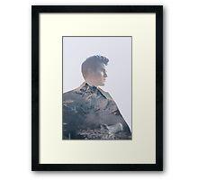 Darren Mountain Framed Print