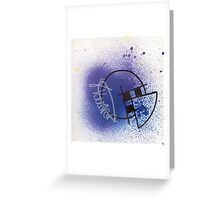 Geo- Splatter Collection Greeting Card