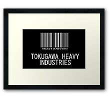 Tokugawa Heavy Industries (White) (Metal Gear) Framed Print