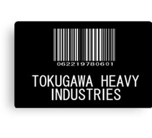 Tokugawa Heavy Industries (White) (Metal Gear) Canvas Print