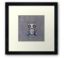 Robot Boomer Framed Print