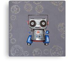 Robot Boomer Canvas Print