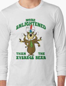 Yogi Bear - More Enlightened Than The Average Bear Long Sleeve T-Shirt