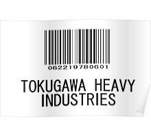 Tokugawa Heavy Industries (Black) (Metal Gear) Poster