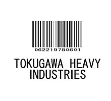 Tokugawa Heavy Industries (Black) (Metal Gear) Photographic Print