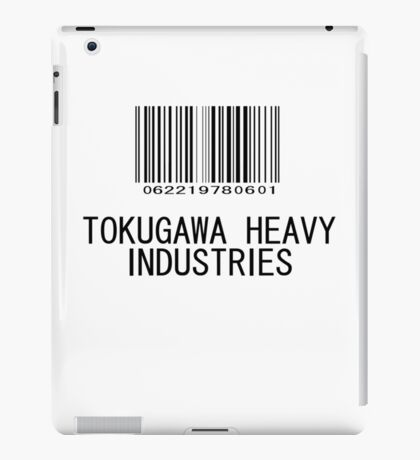 Tokugawa Heavy Industries (Black) (Metal Gear) iPad Case/Skin