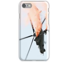 Mil Mi-24 Helicopter iPhone Case/Skin