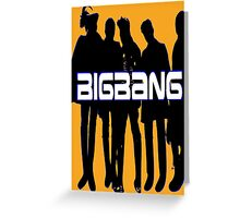 ♥♫Love BigBang Cool K-Pop Clothes & Phone/iPad/Laptop/MackBook Cases/Skins & Bags & Home Decor & Stationary♪♥ Greeting Card