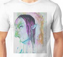 Dark Elf Watercolor Unisex T-Shirt