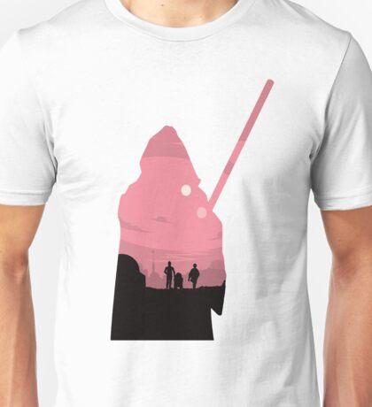 Ben Kenobi Silhouette Unisex T-Shirt