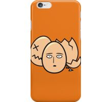 One Punch Egg, Saitama Once Punch Man Parody iPhone Case/Skin