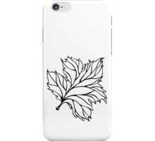 CHINAR LEAF IN SPRING iPhone Case/Skin
