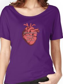 You Make My Heart PVC Women's Relaxed Fit T-Shirt