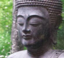 Peacefull Buddha Sticker