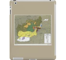Afghanistan Major Insurgent Groups Map (1985) iPad Case/Skin