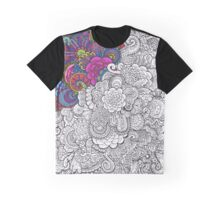 Color in Chaos Graphic T-Shirt