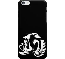Latte Art: Double Swan White iPhone Case/Skin