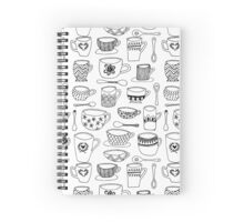 Mugs and Spoons Spiral Notebook