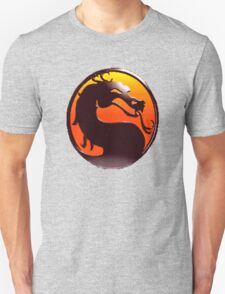 MORTAL KOMBAT PIXEL LOGO Unisex T-Shirt