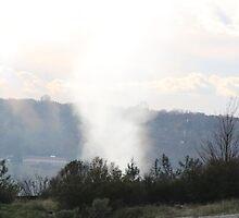 Tornado;  God answered Job in a whirlwind - Job 38:1 Job 40:6  by Laurie Puglia
