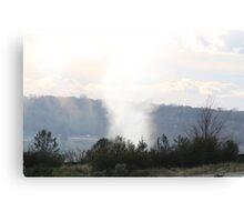 Tornado; God answered Job in a whirlwind - Job 38:1 Job 40:6  Canvas Print