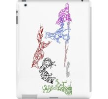 The Pounce (leaping foxes in the snow) iPad Case/Skin