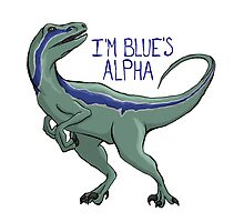 I'm Blue's Alpha by laurenpanda12