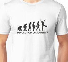 The Evolution of maturity Unisex T-Shirt