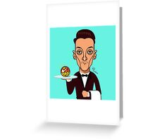 How may I assist you? Greeting Card