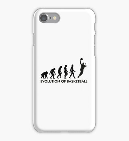 The Evolution of Basketball iPhone Case/Skin