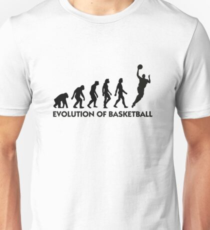 The Evolution of Basketball Unisex T-Shirt