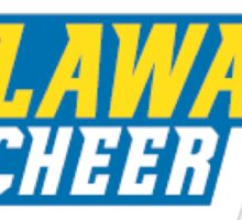 University of Delaware Cheerleading  Sticker