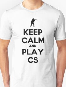 Keep calm and play CS T-Shirt