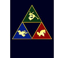 Hoenn's Legendary Triforce Photographic Print