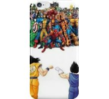 DBZ | Super heroes  iPhone Case/Skin