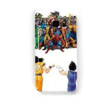DBZ   Super heroes  Samsung Galaxy Case/Skin