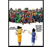 DBZ | Super heroes  Photographic Print