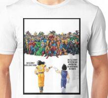 DBZ | Super heroes  Unisex T-Shirt