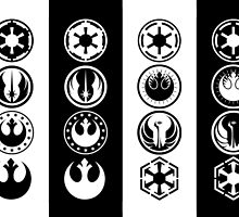 Flags of the Empire & Alliance by TrendSpotter