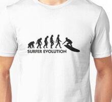 The Evolution of Surfing Unisex T-Shirt