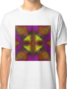 Kaleidoscope Dreams - Yellow/Purple Classic T-Shirt