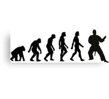 The Evolution of Judo Canvas Print