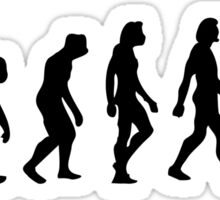 The Evolution of Judo Sticker