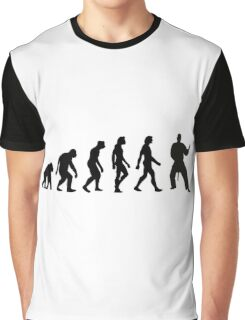The Evolution of Judo Graphic T-Shirt