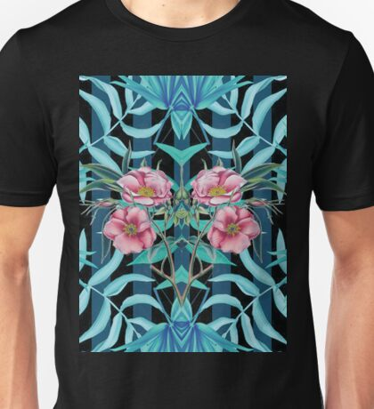 Tropical Nostalgia Mirror Unisex T-Shirt