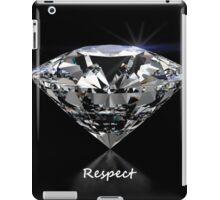 Diamond Shine & Respect iPad Case/Skin
