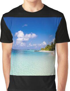 Maldives, Kuramathi island Graphic T-Shirt
