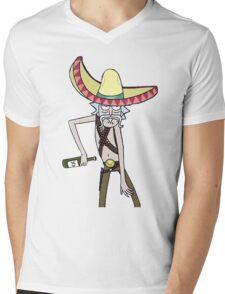Rick sombrero Mens V-Neck T-Shirt