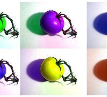 Pop-Art Tomatoes by Shawna Rowe