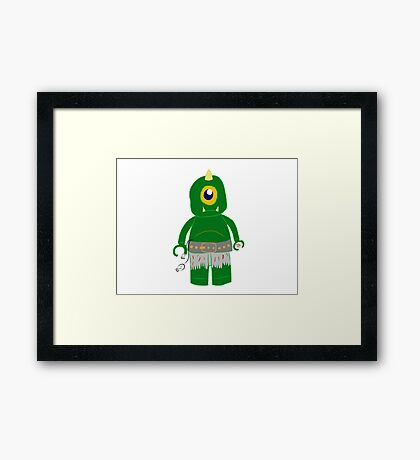 Eye see you Framed Print